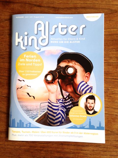 Alsterkind Ausgabe Juni/Juli/August 2014