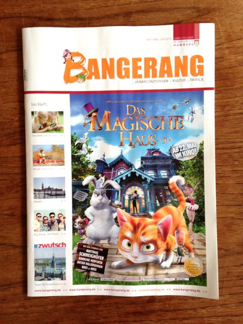 Bangerang Mai/Juni 14