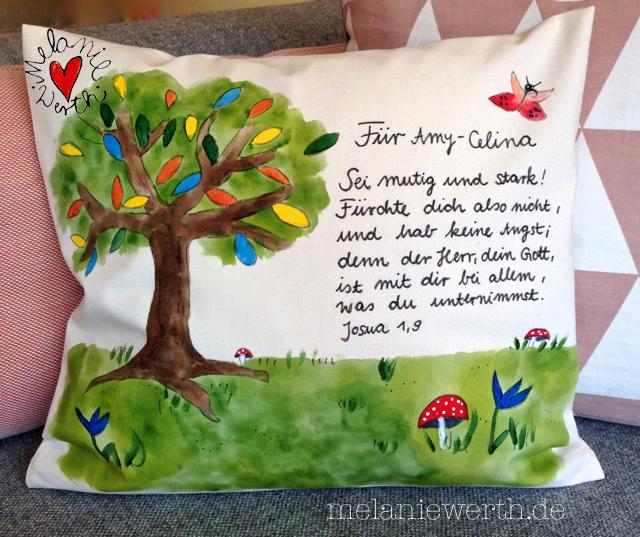 Baum Mit Bunten Blättern Malerei Für Kleine