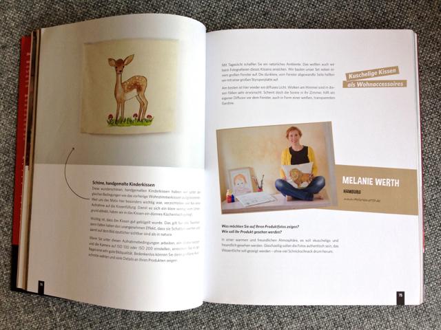 Bilder die verkaufen, verkaufsfördernd fotografieren, Jana Mänz Fotografin, Kuschelige Kunstwerke, Artikel über Melanie Werth
