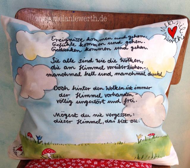 Kissenbezug zur Taufe, Prinzessin zur Taufe, individuelles Geschenk Taufe, Geschenk von der Patin, Geschenk Patentante, Geschenk mit Taufspruch