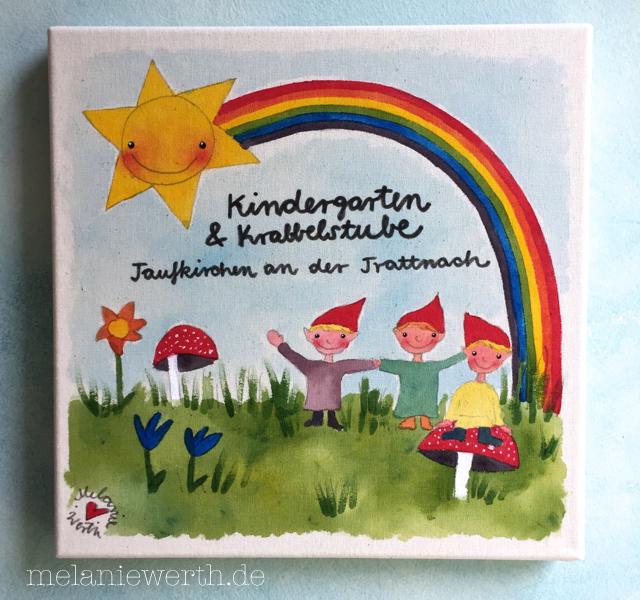 Profilbild Kindergarten, Sonnengruppe, Regenbogengruppe, Zwergengruppe, Wiesengruppe, Gruppenbild Kindergarten, Logo Kindergarten