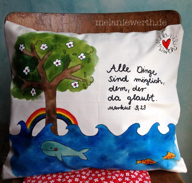 Lebensbaum Taufe, Geschenk mit Lebensbaum, Geschenk mit Taufspruch, Geschenk Taufkerze, Lebensbaum zur Taufe, Geschenk Patenkind Taufe, Markus 9 Vers 23, alle dinge sind möglich dem der da glaubt