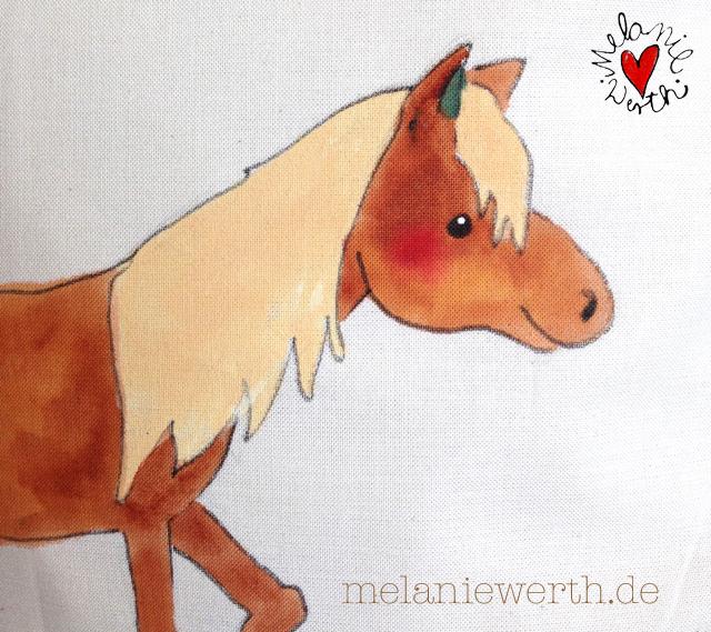 Geschenk mit Pferd, Geschenk Geburt mit Pferd, Geschenk Taufe mit Pferd, Geschenk Patenkind mit Pferd, Geschenk Taufspruch Pferd