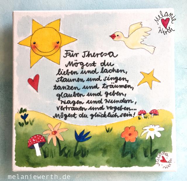 Kissenbezug zur Taufe, Geschenk Taufe, Geschenk Patenkind, Geschenk von der Patentante, Geschenk Patenonkel, Geschenk mit Taufdatum, Geschenk Kind mit Namen, Kuschelkissen für Kinder,