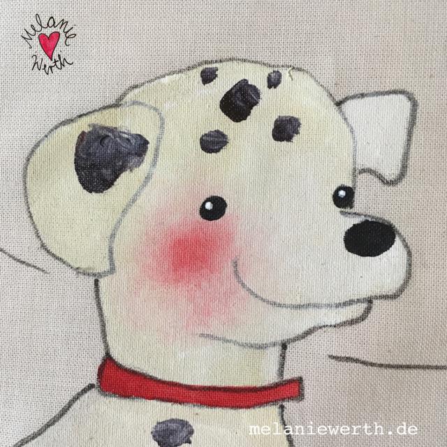 Kissenbezug mit Hund, ilovemydog, lebenmithund, Hundeportrait, Kissen mit Hund, dalmatiner, dalmatian, Bild mit Hund, Geschenk mit Hund, Geschenk für den Hund, für Hundebesitzer