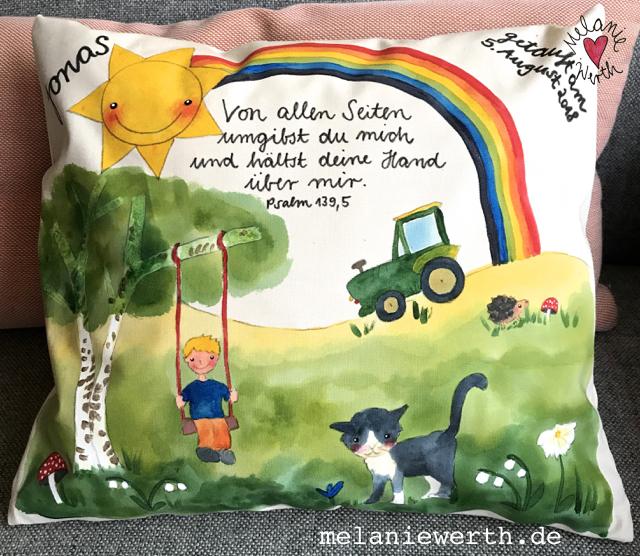 Geschenk Taufe Traktor, Geschenk Patenkind, Geschenk Patentante, Geschenk Patenonkel