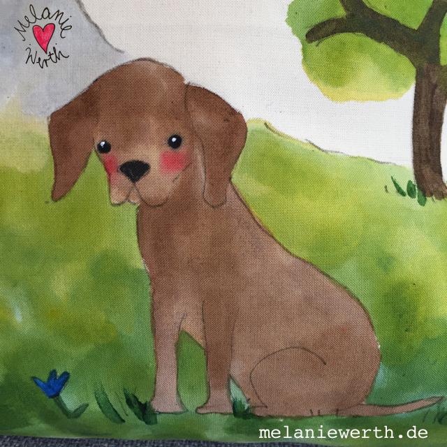Kissenbezug mit Hund, ilovemydog, lebenmithund, Hundeportrait, Kissen mit Hund, deutsch kurzhaar, jagdhund portrait, Bild mit Hund, Geschenk mit Hund, Geschenk für den Hund, für Hundebesitzer