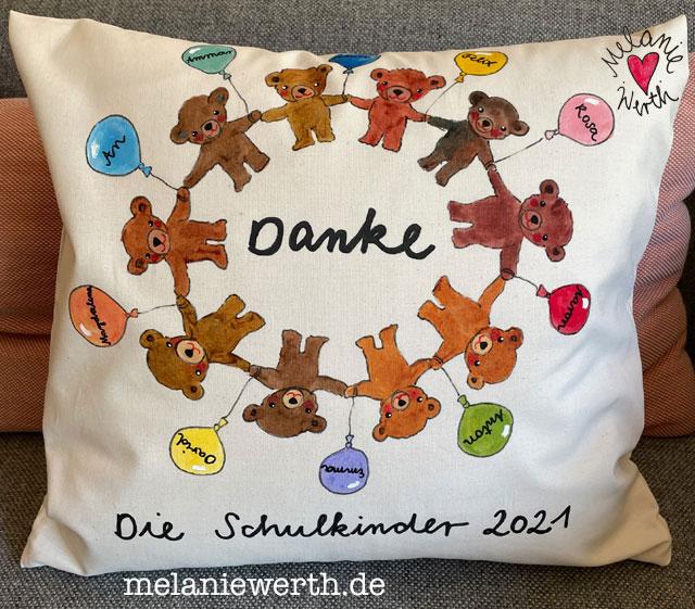 Abschiedsgeschenk Kindergarten Bärengruppe