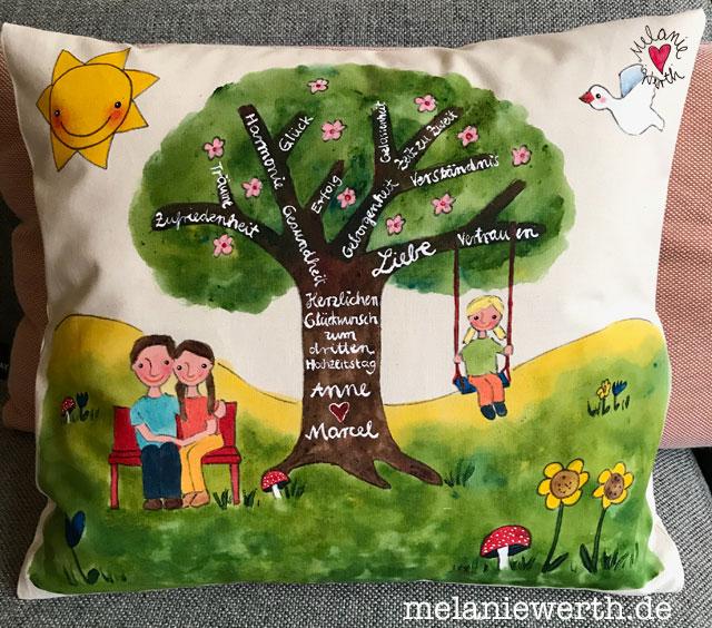 Geschenk Hochzeitstag individuell, Lebensbaum zur Hochzeit, Geschenk Hochzeit individuell.
